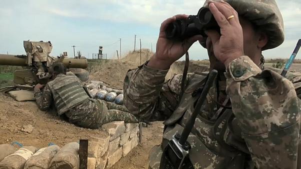 Соглашение о прекращении огня в Нагорном Карабахе вступило в силу