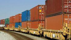 В Украину по новому маршруту прибыл первый контейнерный поезд из Китая