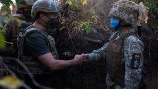 Зеленский наградил украинских военнослужащих