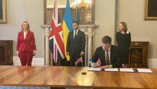 Великобритания может предоставить Украине кредитные гарантии в размере до 2,5 млрд фунтов стерлингов