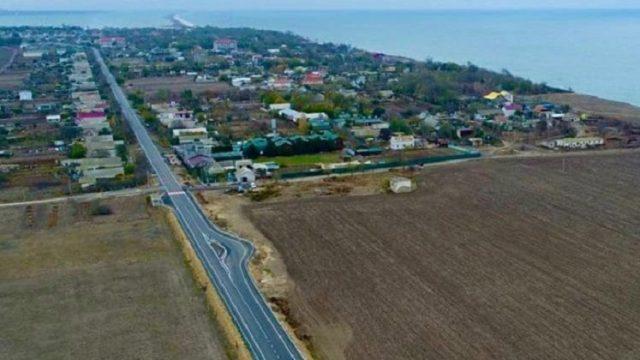 На Одесчине на дороге обустроили островки принудительного снижения скорости