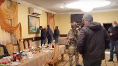 На Черкасчине полиция сорвала крупную сходку криминальных авторитетов (ВИДЕО)
