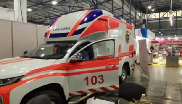 Украинская компания представила уникальные автомобили скорой помощи (ВИДЕО)