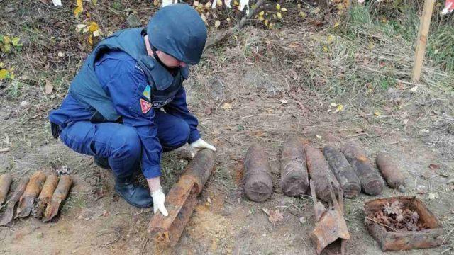 Пиротехники ГСЧС Украины изъяли и уничтожили более 59500 взрывоопасных предметов