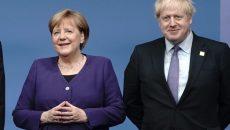 Меркель и Джонсон поздравили Байдена с победой