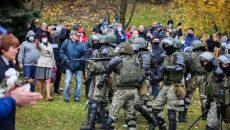 В Беларуси задержаны более сотни протестующих