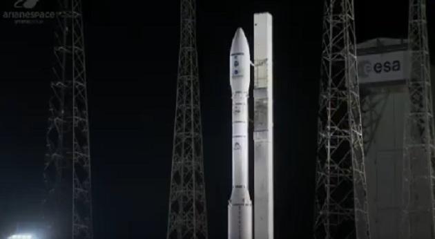 Ракета-носитель Vega с украинским двигателем потерпела аварию