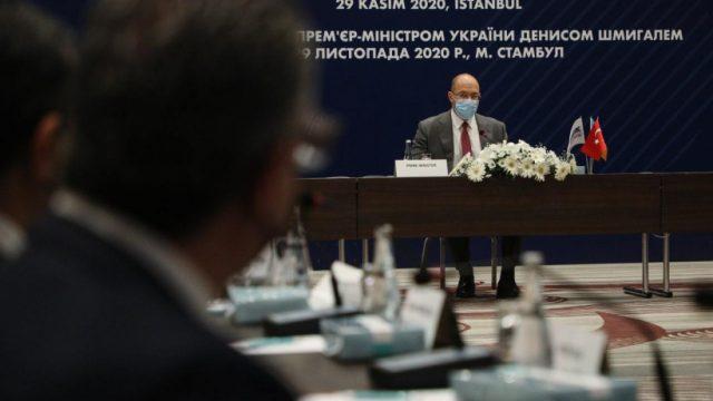 Шмыгаль провел круглый стол с турецкими топ-компаниями