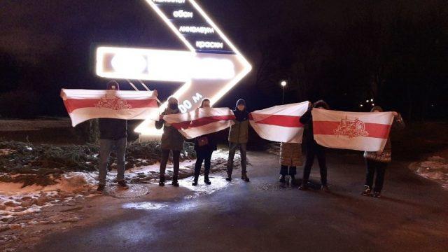Жители Минска вышли сегодня на протесты еще до рассвета