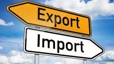 В Украине существенно замедлилось падение экспорта
