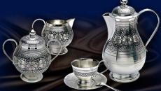 Тонкости ухода за серебряной посудой