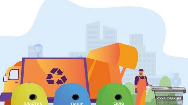 В Киеве уже установлено около 4 тыс. контейнеров для сортировки мусора