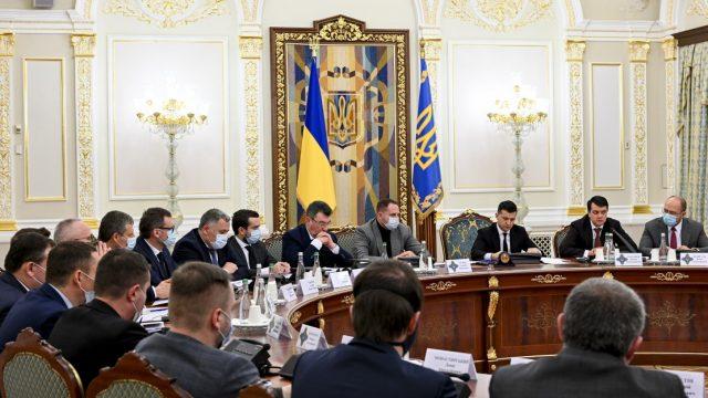 СНБО одобрило новый законопроект по е-декларированию