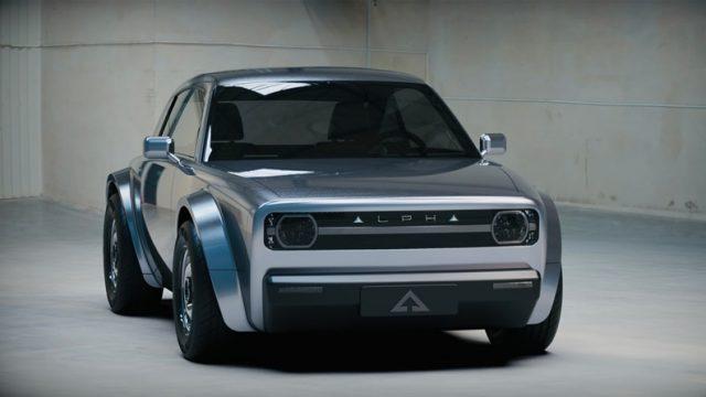 Калифорнийский стартап представил электрическое купе Alpha ACE