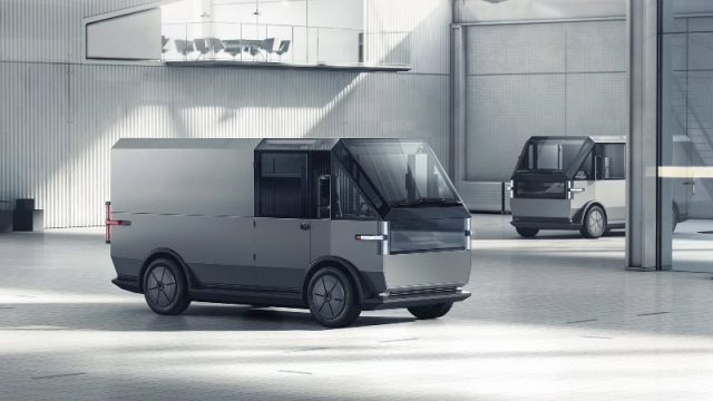 Стартап Canoo представил электрический фургон MPDV для служб доставки