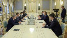 Зеленский встретился с турецкими министрами