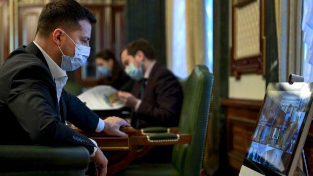 На совещании у Зеленского обсудили вакцинацию населения от СОVID-19