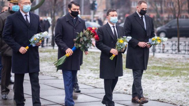 Зеленский почтил память ликвидаторов аварии на Чернобыльской АЭС