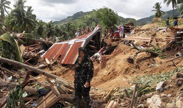 На Филлипинах произошло мощное землетрясение