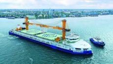 Флот «Нибулона» увеличил перевозку грузов на 9%