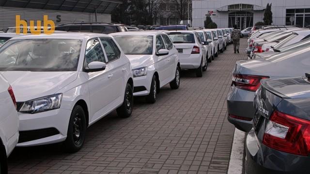 В Украине за год сократился рынок новых легковых автомобилей