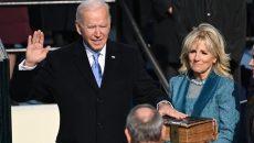 Джо Байден принял присягу в Вашингтоне