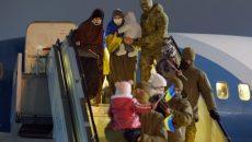 Девять украинцев, находившихся в сирийских лагерях беженцев, вернулись домой
