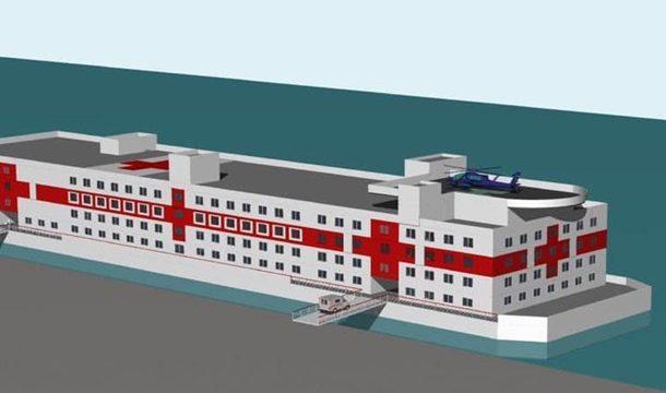 В Украине планируют построить плавучий госпиталь