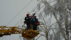 Вследствие непогоды в Украине остаются обесточенными 62 населенных пункта, - ГСЧС