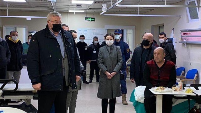 Посол Украины в Турции посетил спасенных украинских моряков с судна Arvin
