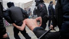 В РФ рекордное число задержанных