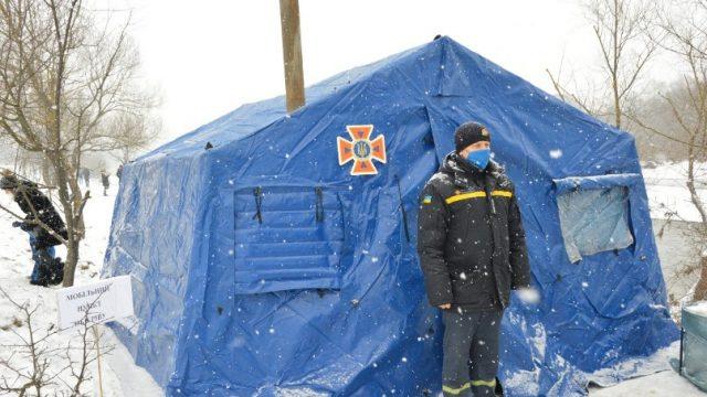 В Украине продолжают работу пункты обогрева для населения