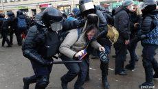 В РФ задержали более 2-х тысяч человек