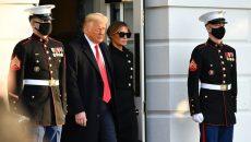 Трамп покинул Белый дом в качестве президента США