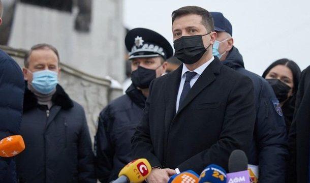 Зеленский объявил 23 января днём траура в Украине