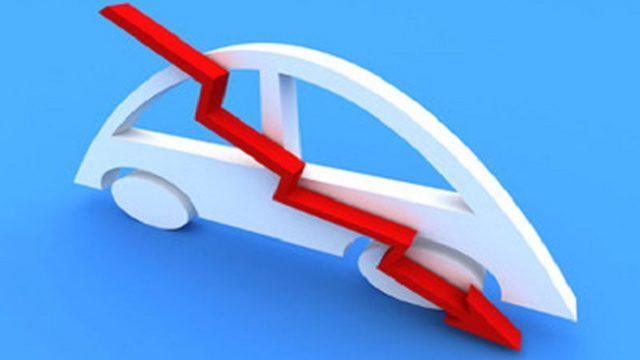 В январе рынок новых легковых авто сократился на 19%