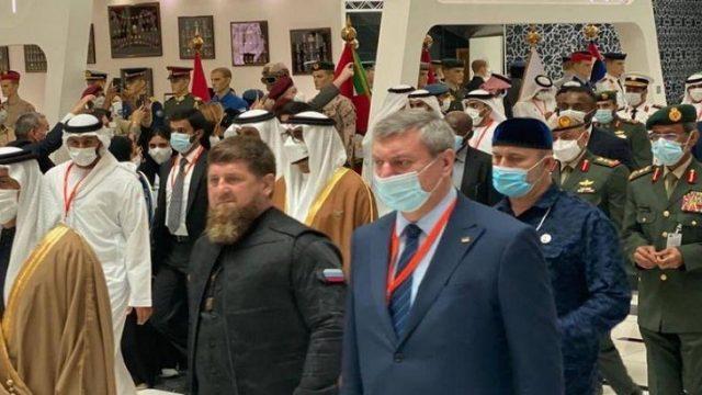 Уруского заметили около Кадырова на выставке в Абу-Даби