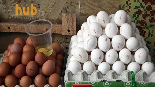 Украинские яйца выходят на новый рынок