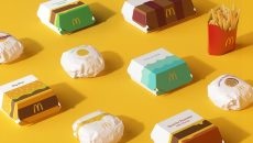 McDonald's решил радикально изменить дизайн упаковки