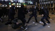 В Каталонии четвертую ночь не утихают беспорядки