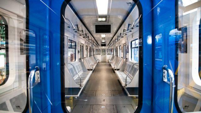 В столичном метро появится модернизированный поезд