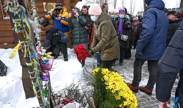 В столице почтили память погибших на Майдане