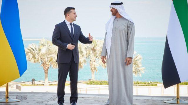 Президент назвал ОАЭ одним из ключевых партнеров Украины