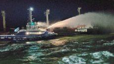 В Черном море горел сухогруз «PRINCE 4»