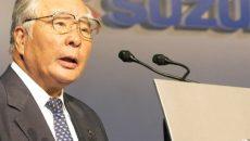 Руководитель Suzuki  уйдет на пенсию