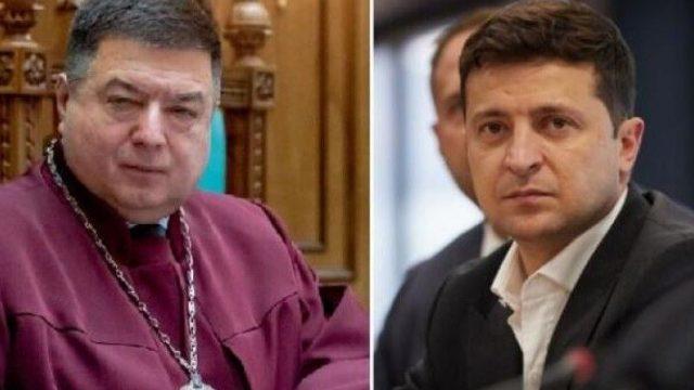 Верховный суд отказался рассматривать иск Тупицкого против Зеленского