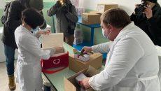 Вакцинация стартовала в семи регионах, - МОЗ