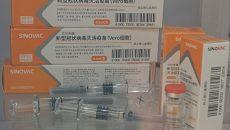 Китай отправил в Украину первую партию вакцины CoronaVac, — посольство