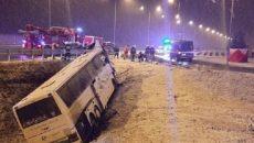 В Польше автобус с украинцами попал в ДТП