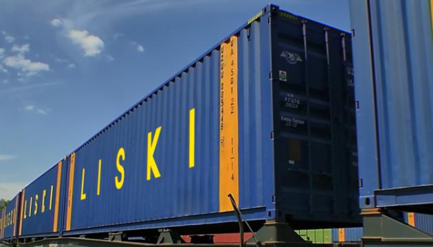 УЗ приняла четыре контейнерных поезда из Китая